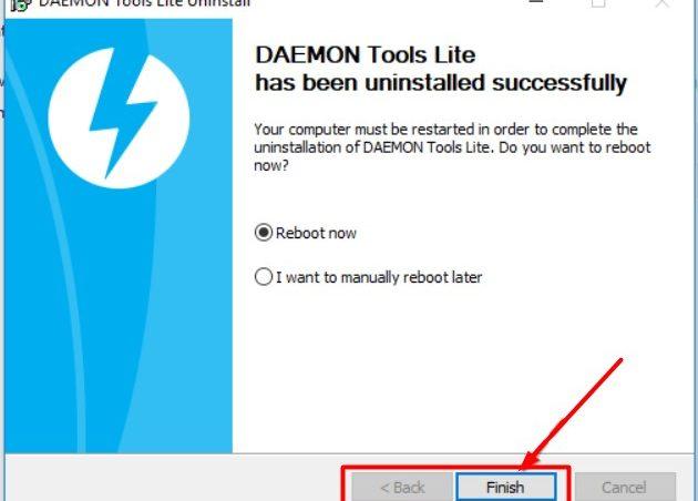 Desinstalar Daemon Tools Windows