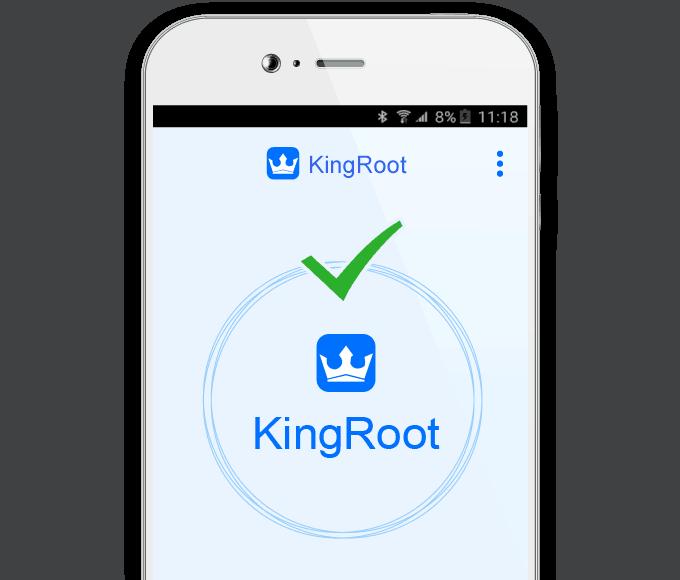 Desde la app de gestión de root