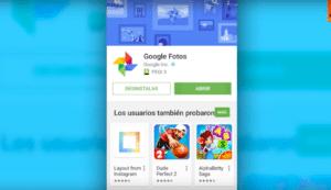 Desinstalar Google Fotos 1