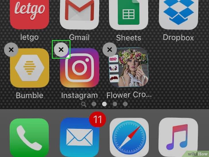 Desinstalar Instagram en iOS 2
