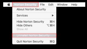 Desinstalar Norton Security 2