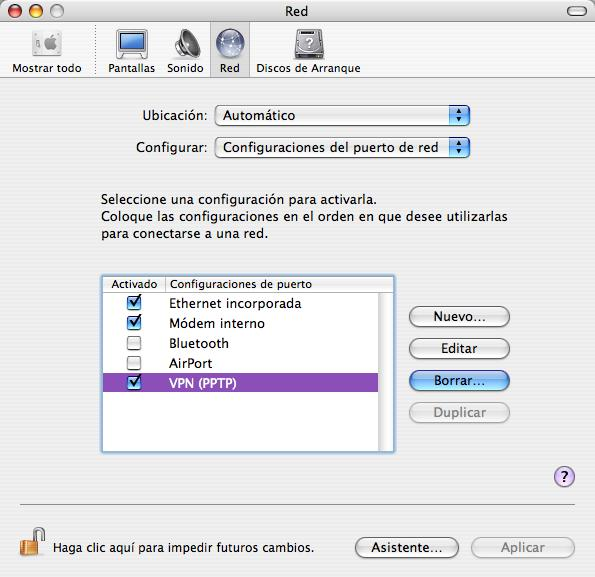 Desinstalar VPN Mac 2