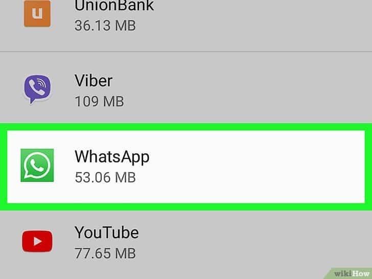 Desinstalar WhatsApp 2
