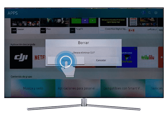 Desinstalar Youtube en Smart TV Samsung 3