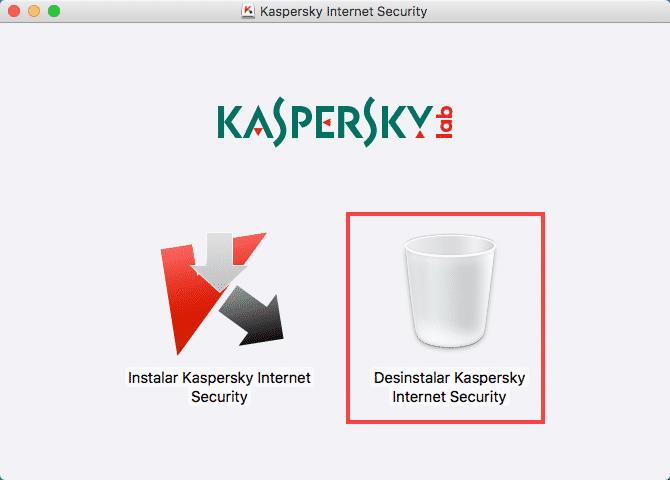 Desinstalar Kaspersky en Mac