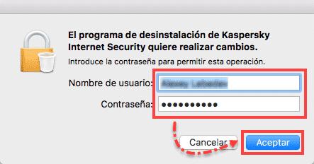 Desinstalar Kaspersky en Mac 3